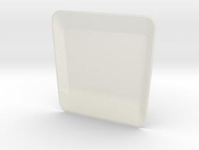 High Bonnet New Model D90 D110 Gelande 2/2 in White Processed Versatile Plastic