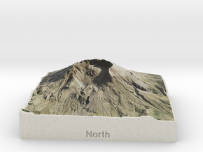 Mt. St. Helens, Washington, USA, 1:100000 in Full Color Sandstone