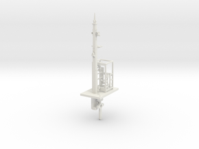 NSWGR 7mm Scale 16' Signal Lower Quadrant in White Natural Versatile Plastic