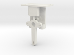 Signal Mech - Short 1 Arm in White Natural Versatile Plastic