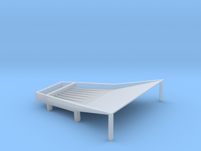 Cone Shake Tray 7t Fixed in Smooth Fine Detail Plastic