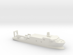USSP Auxiliary Ship, 1/3000 in White Natural Versatile Plastic