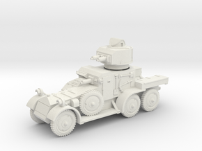 Lanchester MkII (15mm) in White Natural Versatile Plastic