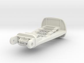 Right Arm Core in White Natural Versatile Plastic