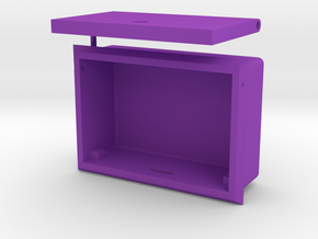 """AXIAL"" FC SMALL BOX in Purple Strong & Flexible Polished"