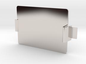 MIDI Sprout Battery Door 001 (snap) in Platinum