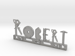 Robert Nametag in Aluminum