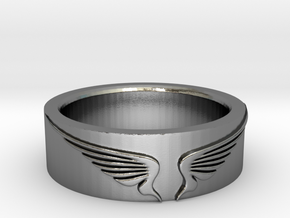 WingsRing in Polished Silver