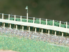 2mm/ft SR Trestle Platform Set in Frosted Ultra Detail