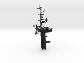 1/96 scale Famous/Bear Class - Full Mast in Black Natural Versatile Plastic