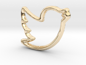 Tweep Charm - 11mm in 14K Yellow Gold