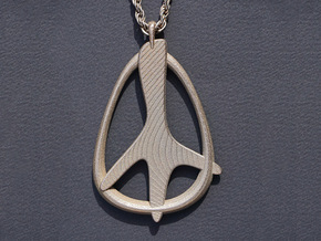 Jetset Peace in Stainless Steel