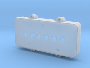 Jazzmaster Pickup Cover - Telecaster Bridge in Smooth Fine Detail Plastic