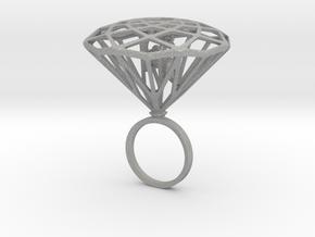 Diamond Bird Steel in Aluminum