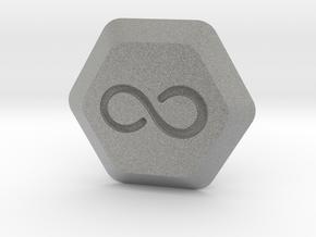 The 100 City Of Light Pill Key in Metallic Plastic