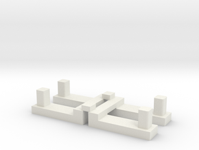 Sensor Kit - Buttons in White Natural Versatile Plastic