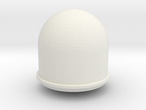 SATCOM dome in White Natural Versatile Plastic