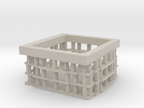 MinecraftIDtech3dColiseum in Natural Sandstone