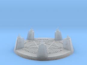 28mm/32mm Demon Summoning Circle Large in Smooth Fine Detail Plastic