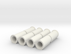 1/50 Betonrohr DN800 B-KF-GM 2500 8x in White Natural Versatile Plastic