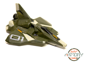 Andy's Armory: CUTTER-001 Space-Faring Coupe in White Strong & Flexible Polished