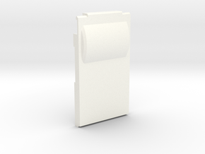 PO case closed back in White Processed Versatile Plastic