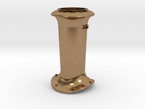 Z20 Smoke Stack in Natural Brass