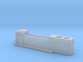 CP3021-3040 GP38-2 Hood (Blanked Class Lts) 1/87.1 in Smoothest Fine Detail Plastic