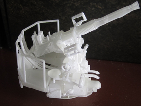 1/72 40mm Bofors Twin Mount USN WWII ships in Smooth Fine Detail Plastic