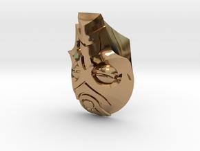 FOD-04-Fantasy Mask MOTU in Polished Brass