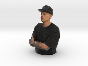 Zach Pensmith 100mm 'HEROES OF TATTOO' in Full Color Sandstone