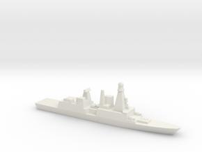 Orizzonte-class Frigate, 1/3000 in White Natural Versatile Plastic