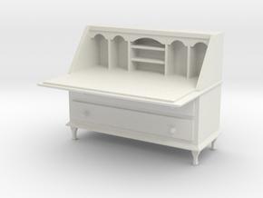 Bureau in White Natural Versatile Plastic