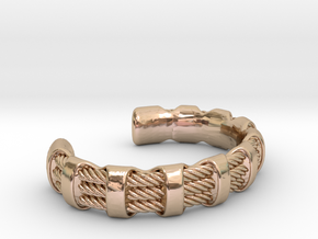 Flexy Cuff 3 medium in 14k Rose Gold Plated