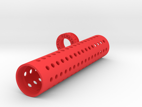 Suppressor Sheath Version 2 (30x150) in Red Processed Versatile Plastic