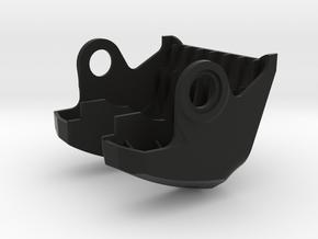 TBS Vendetta - Front Bumper 3D Print in Black Natural Versatile Plastic