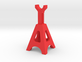 Scale Jackstand in Red Processed Versatile Plastic
