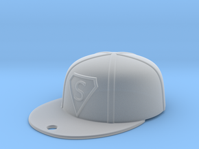 Baseball Cap in Smooth Fine Detail Plastic