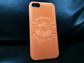 PS.23 Case - Original - SEEK FIRST THE KINGDOM...  in Orange Strong & Flexible Polished