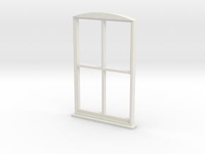 Single Window 1:55 in White Natural Versatile Plastic