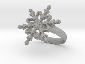 Snowflake Ring 2 d=17.5mm 0h35d175 in Aluminum