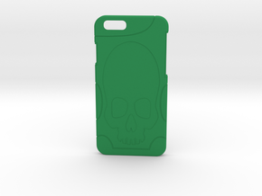 Apple Iphone 6 case in Green Strong & Flexible Polished