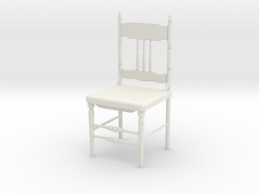 Spanish Chair  in White Natural Versatile Plastic