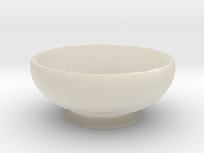 Bowl in White Acrylic
