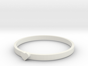 RINGH in White Natural Versatile Plastic