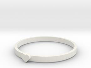 RINGH in White Natural Versatile Plastic