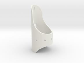 Saber 1 Emitter Shroud in White Strong & Flexible