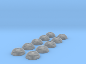 1/500 scale army parachute para Fallschirm 10 of in Frosted Ultra Detail