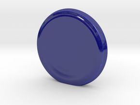 Spin Station with 2 sides in Gloss Cobalt Blue Porcelain
