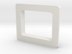 Starplat - Screen Bezel in White Strong & Flexible